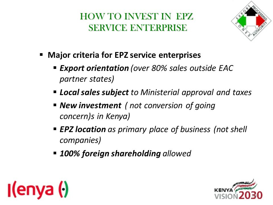 HOW TO INVEST IN EPZ SERVICE ENTERPRISE