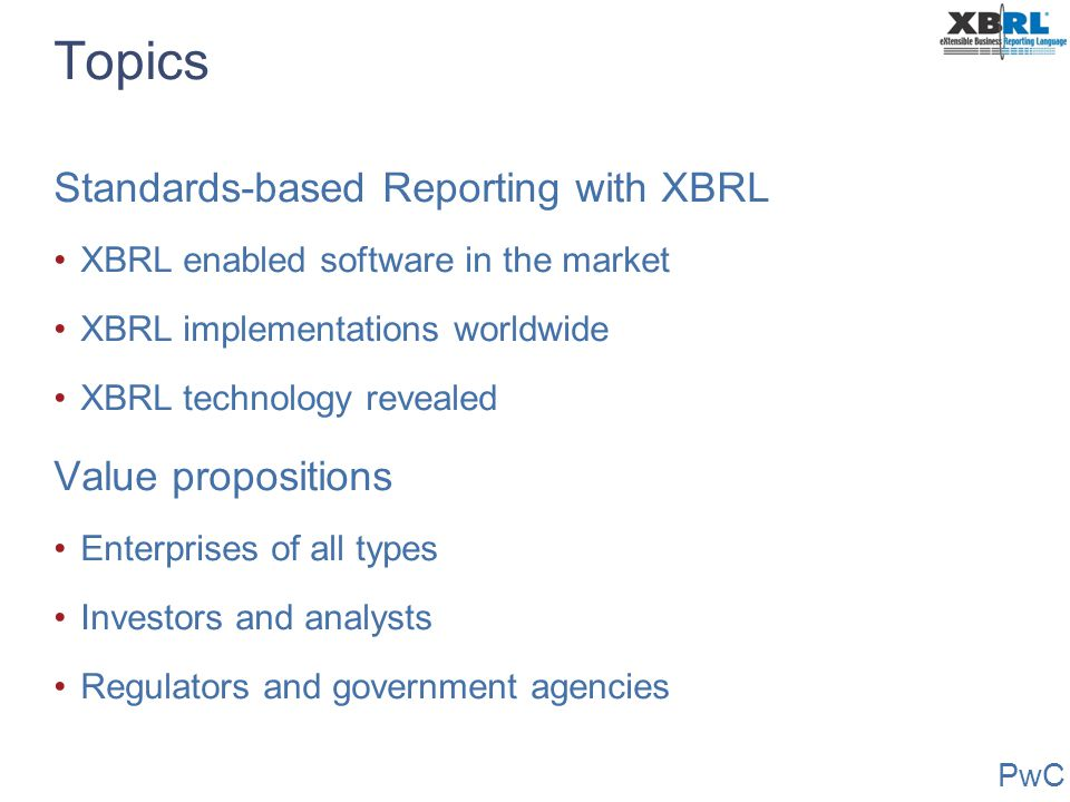 Extensible Business Reporting ...