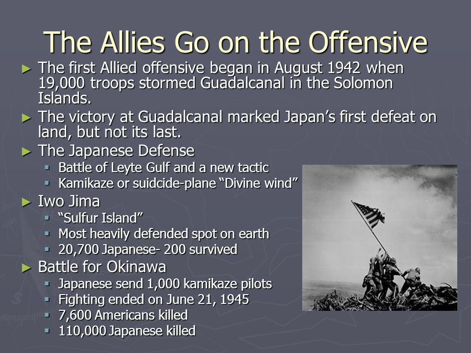 The Allies Go on the Offensive