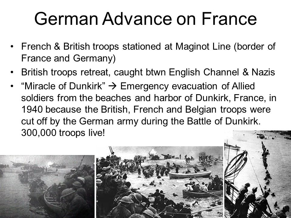 German Advance on France