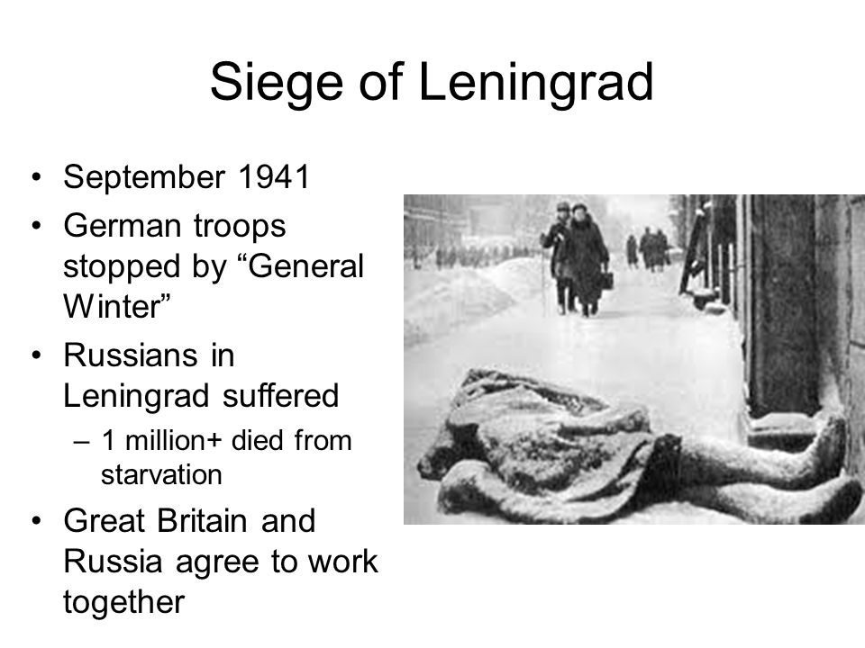 Siege of Leningrad September 1941