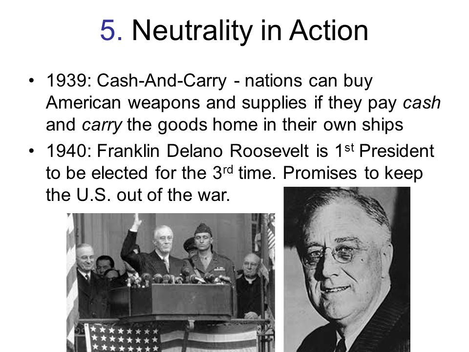 5. Neutrality in Action