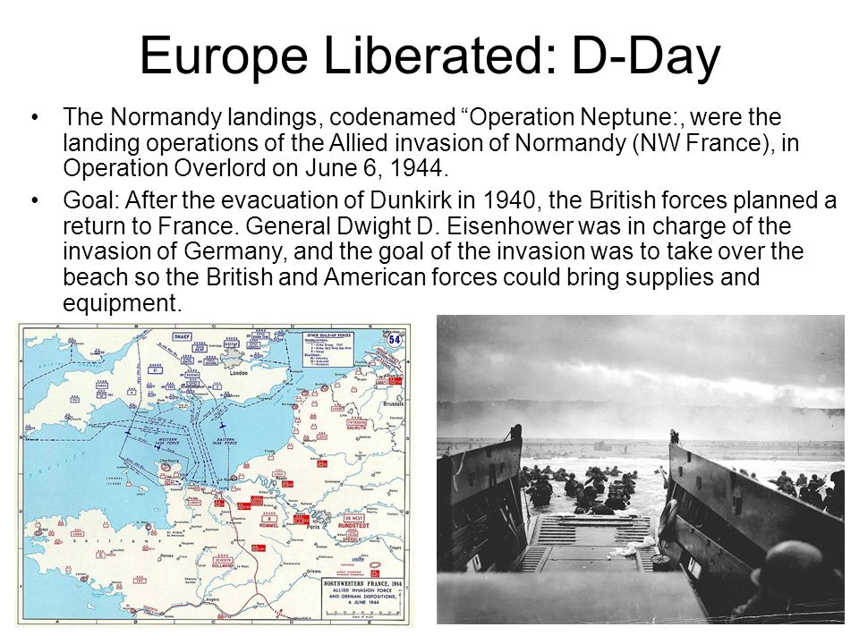 Europe Liberated: D-Day