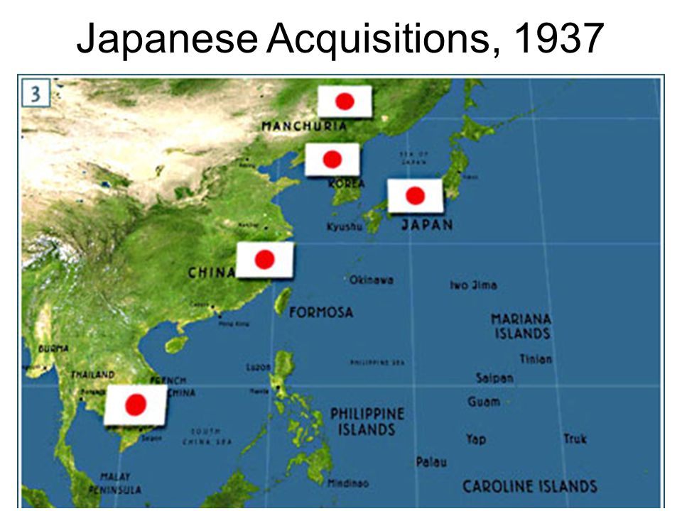 Japanese Acquisitions, 1937