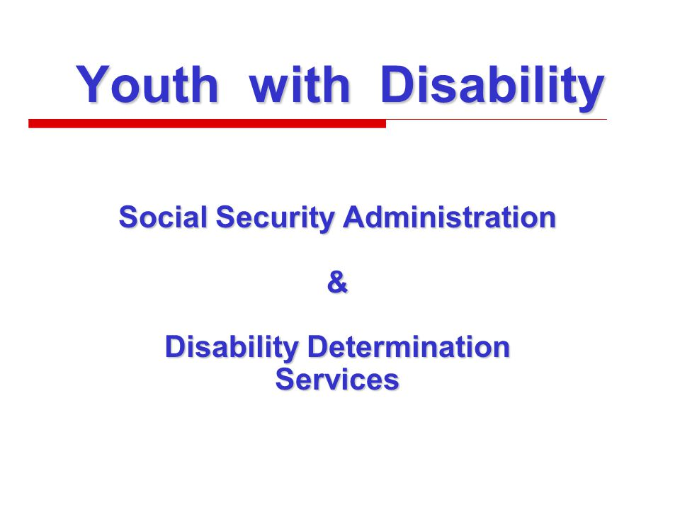 Social Security Administration Disability Benefits at Age