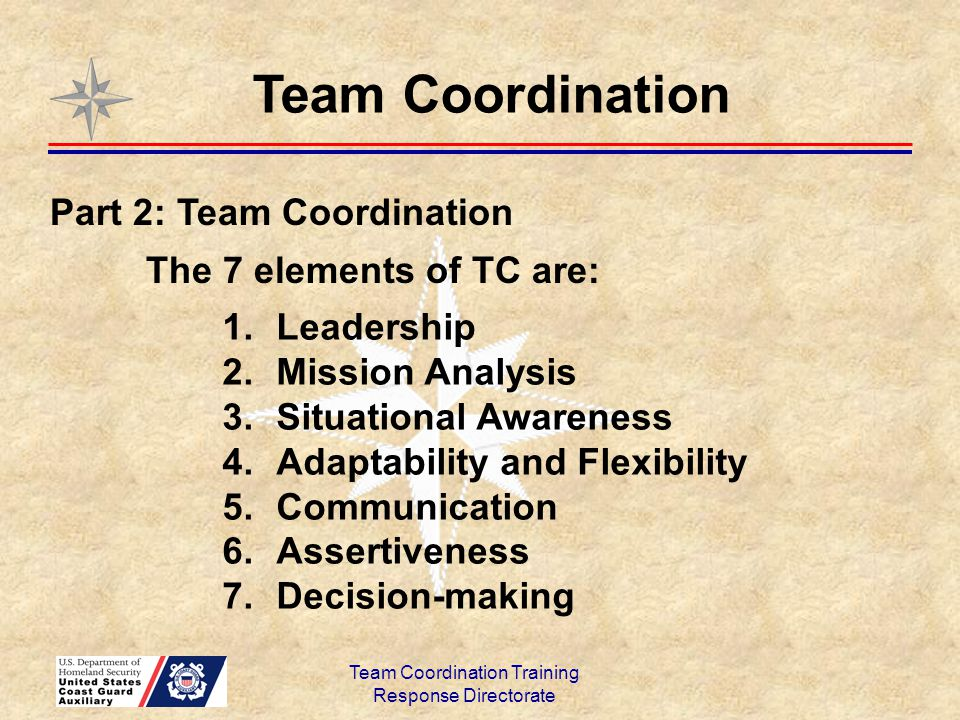 Team Coordination Training - ppt download