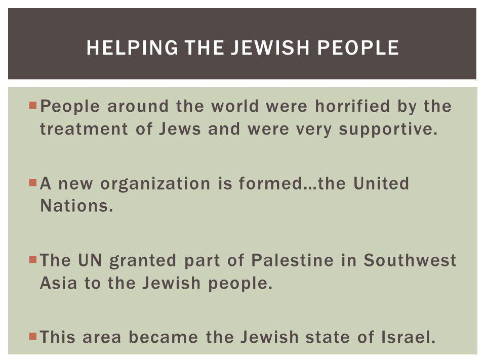 Helping the JewisH People