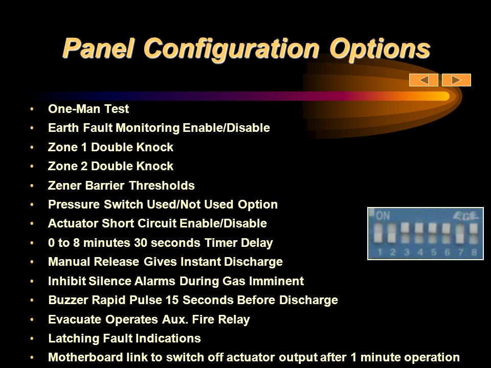 Panel Configuration Options