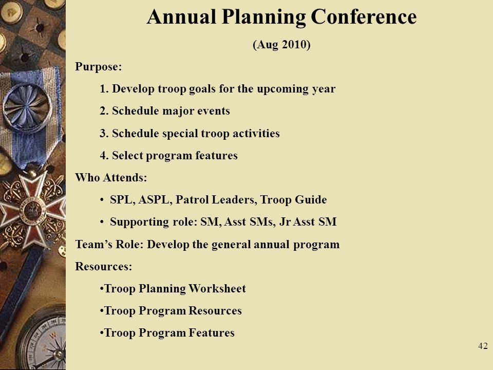 Annual Planning Conference