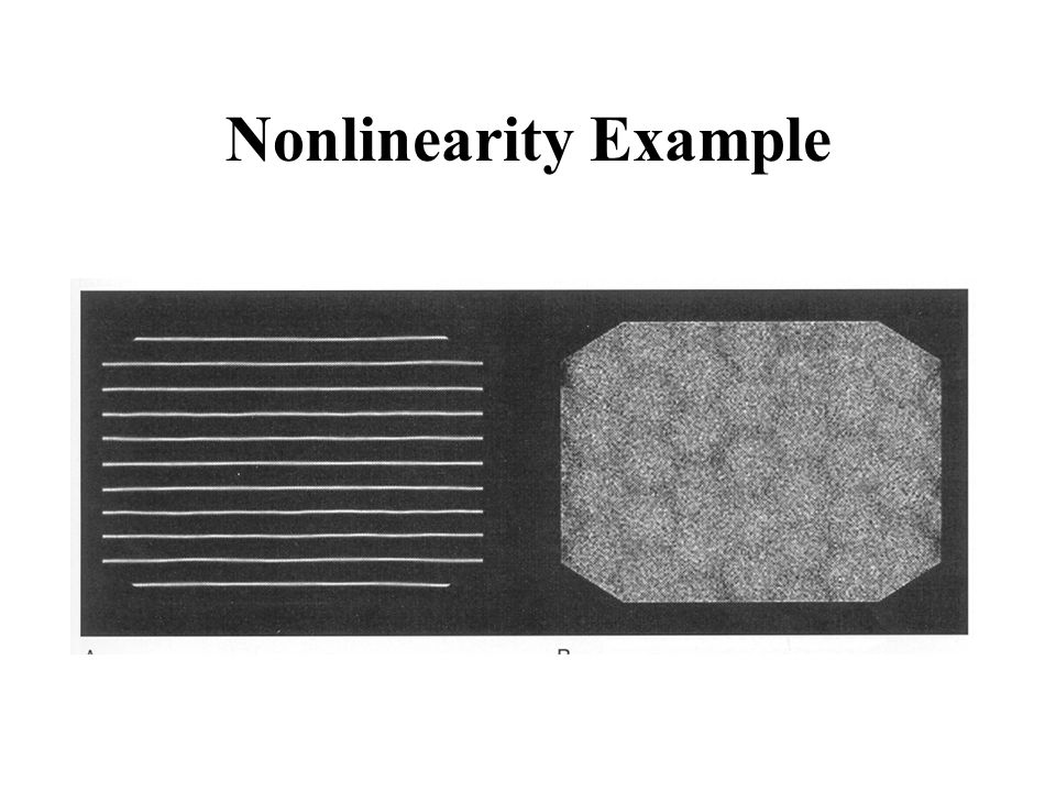 Nonlinearity Example
