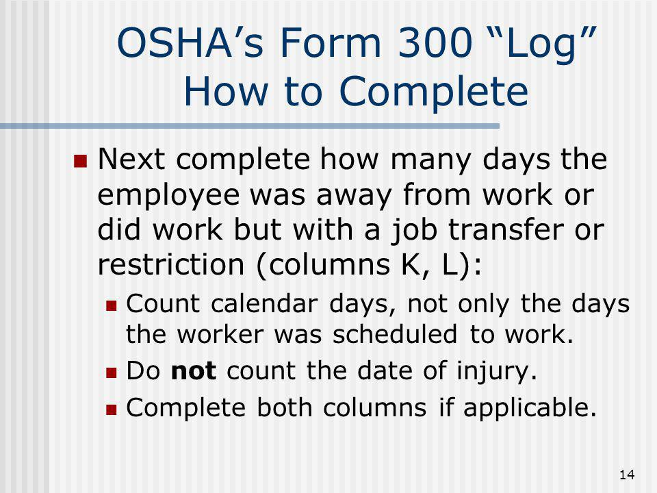 Dorable osha 300 log template images resume ideas for Sharps injury log template