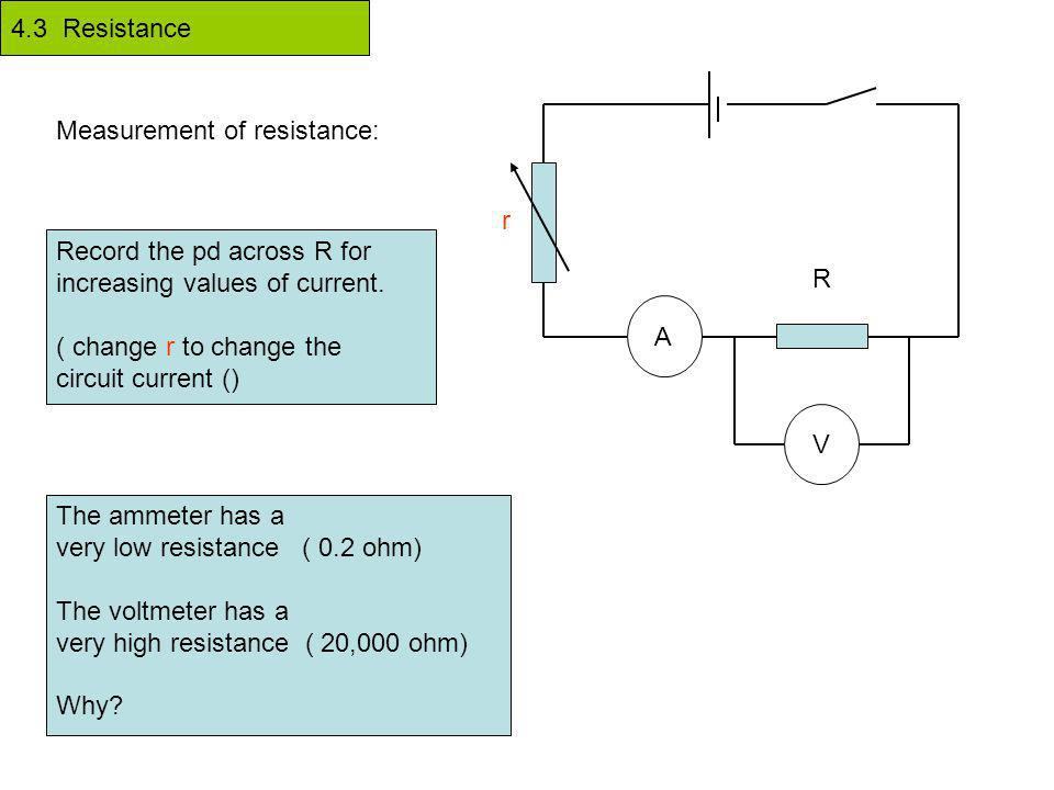 4.3 Resistance Electricity in wires is a flow of electrons along the ...