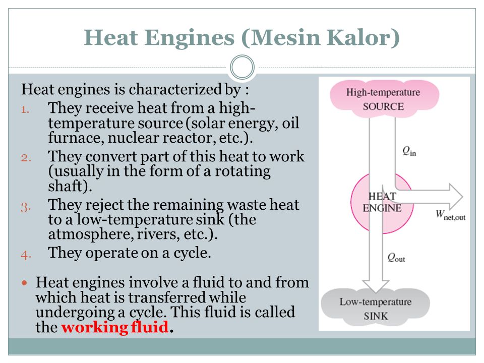 Heat Engines (Mesin Kalor)
