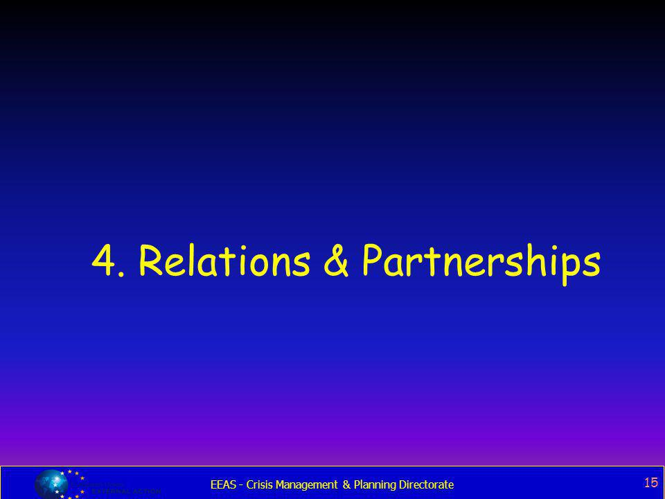 4. Relations & Partnerships