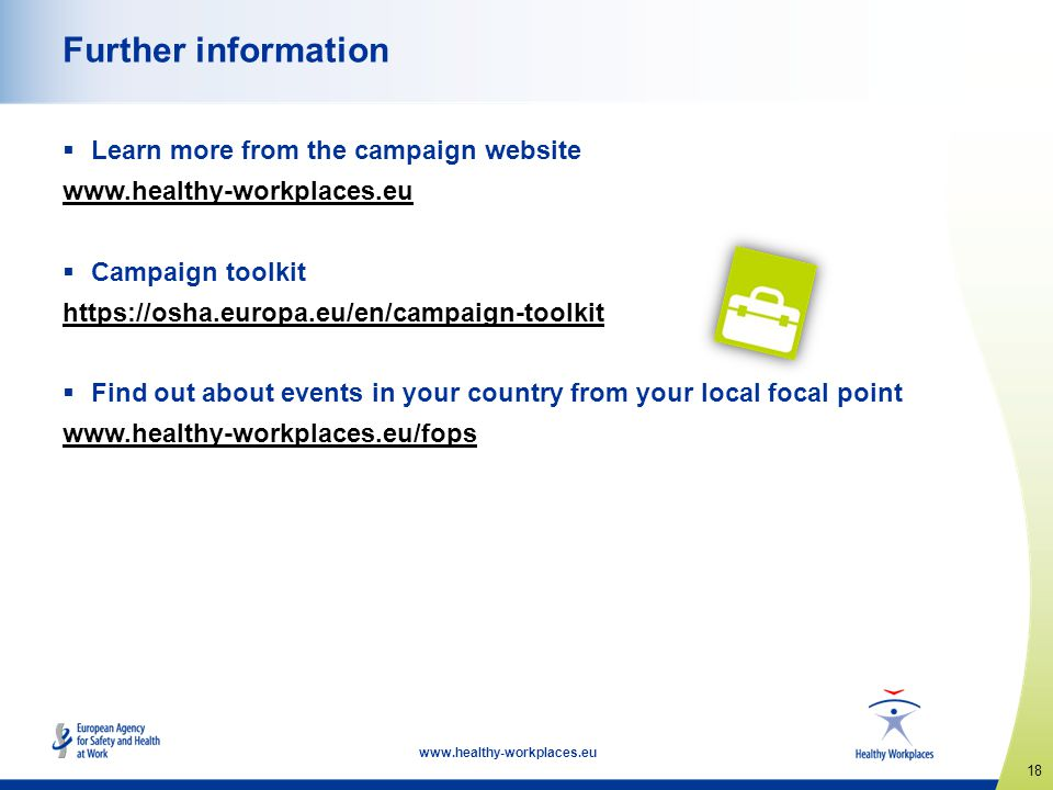Further information Learn more from the campaign website