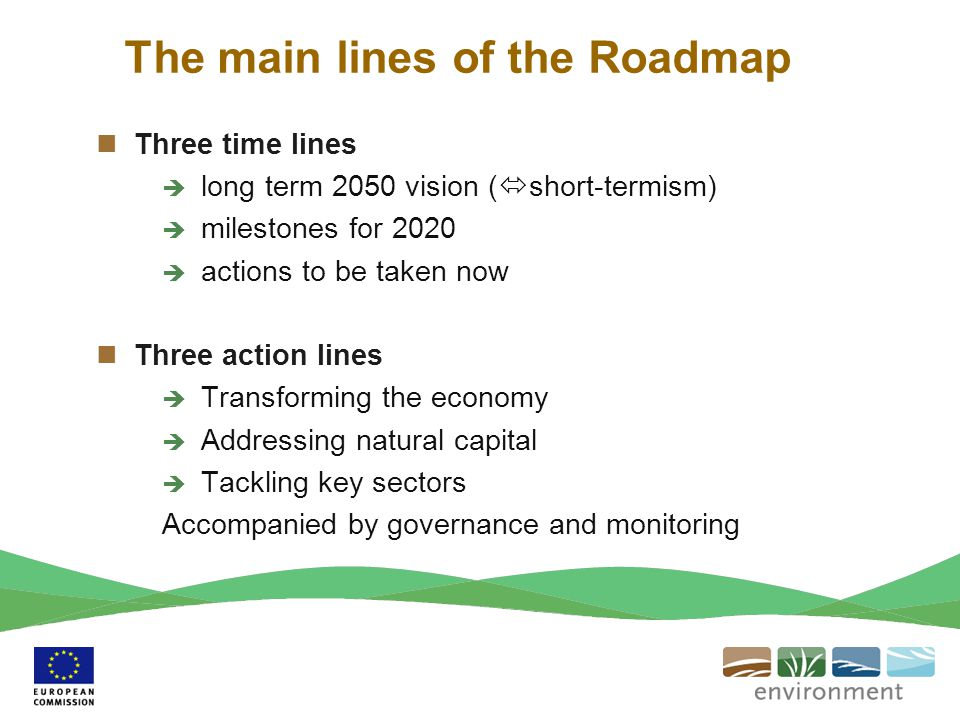 The main lines of the Roadmap