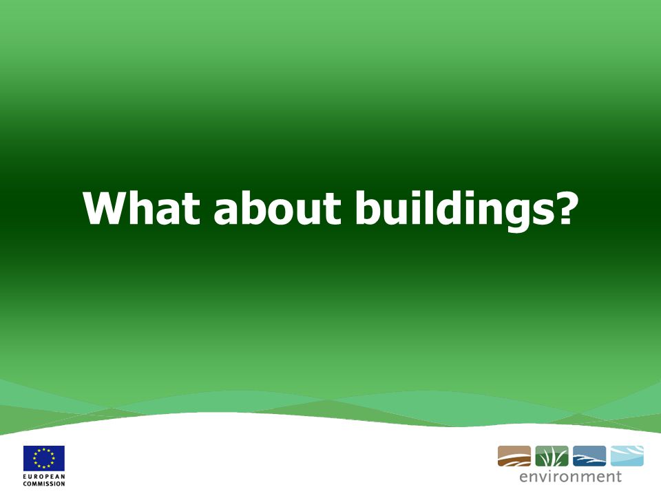 What about buildings