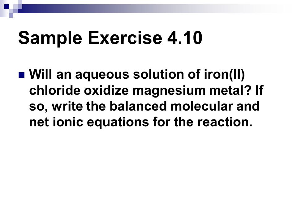 Sample Exercise 4.10