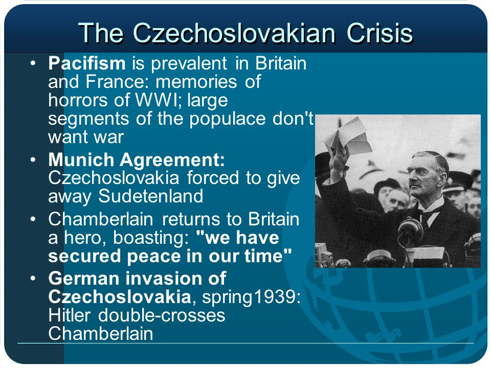 The Czechoslovakian Crisis