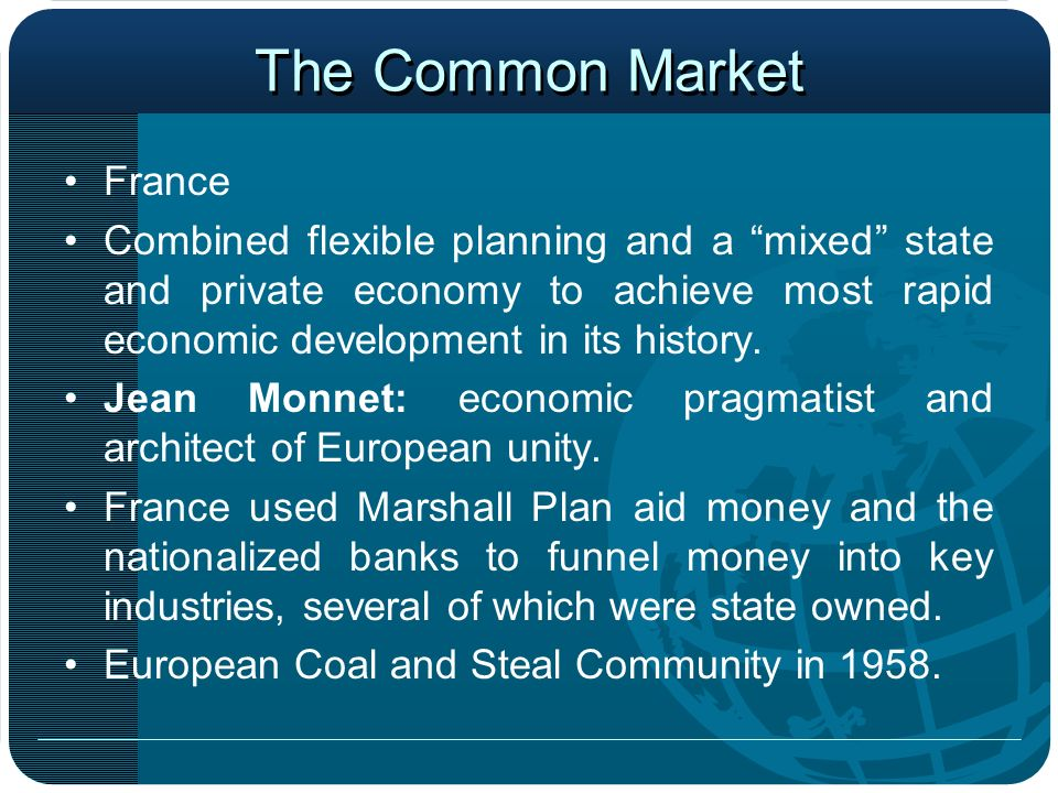 The Common Market France