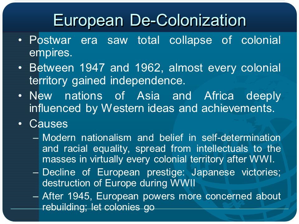 European De-Colonization