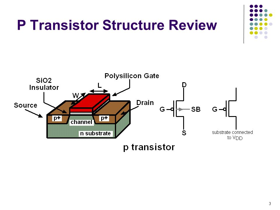 P Transistor Structure Review