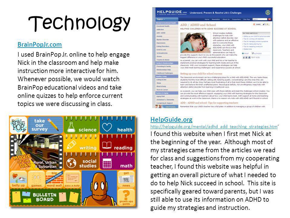 Technology BrainPopJr.com