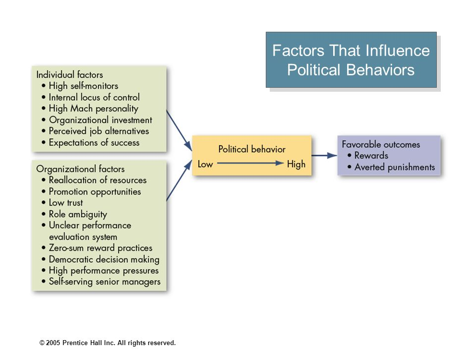 Factors That Influence Political Behaviors