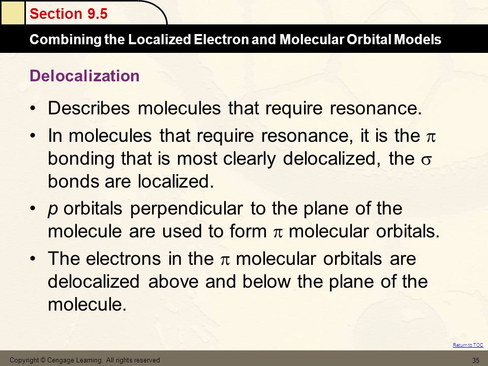 Describes molecules that require resonance.