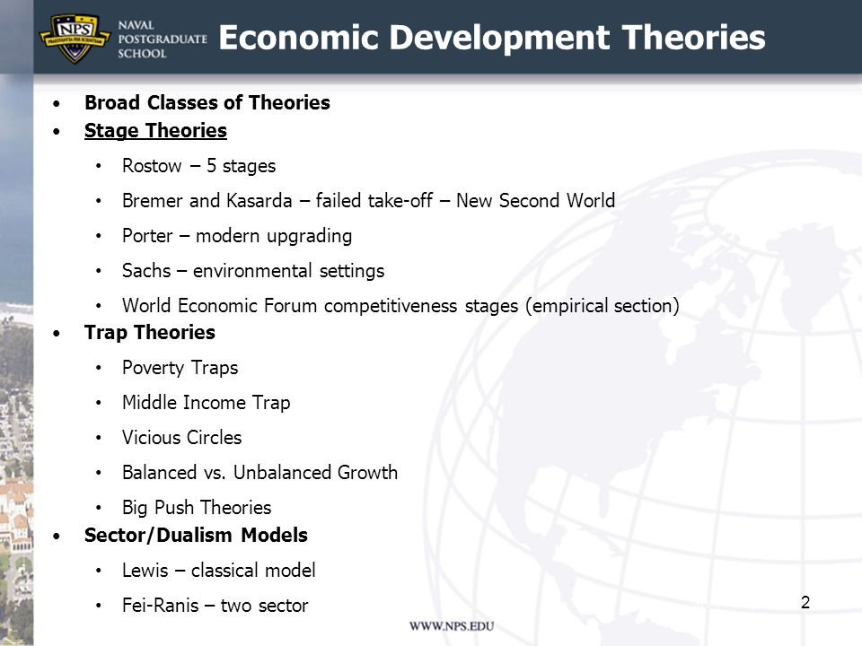 Economic Development Theories