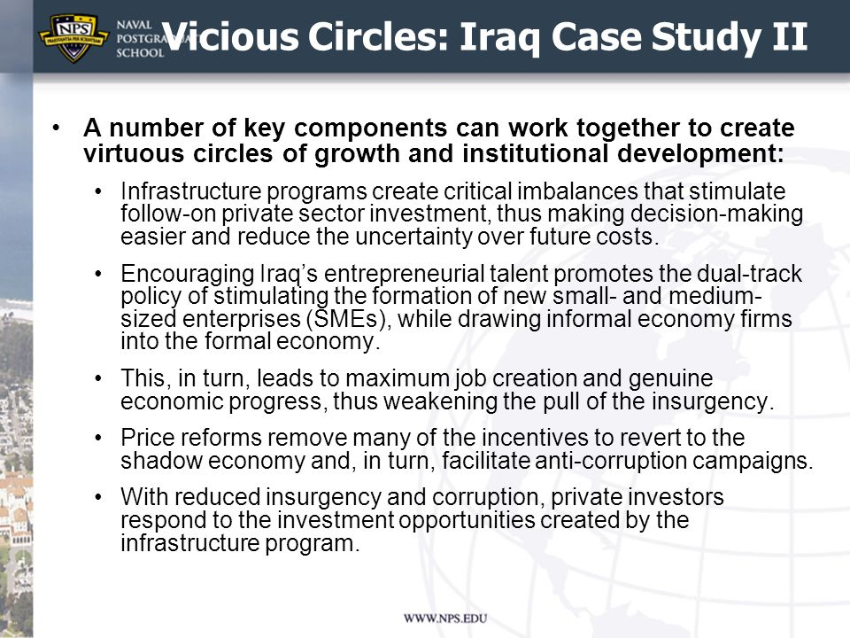 Vicious Circles: Iraq Case Study II