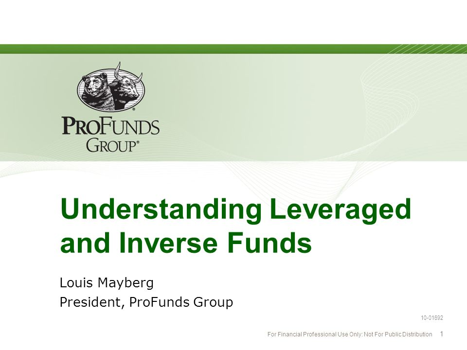 Understanding Leveraged and Inverse Funds