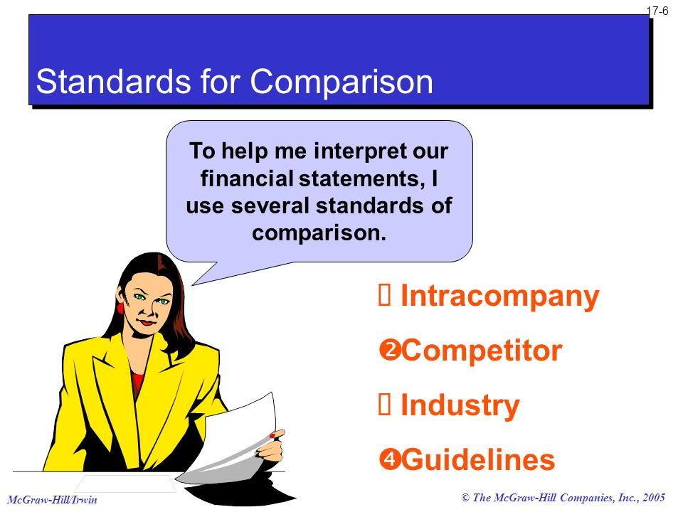 Standards for Comparison