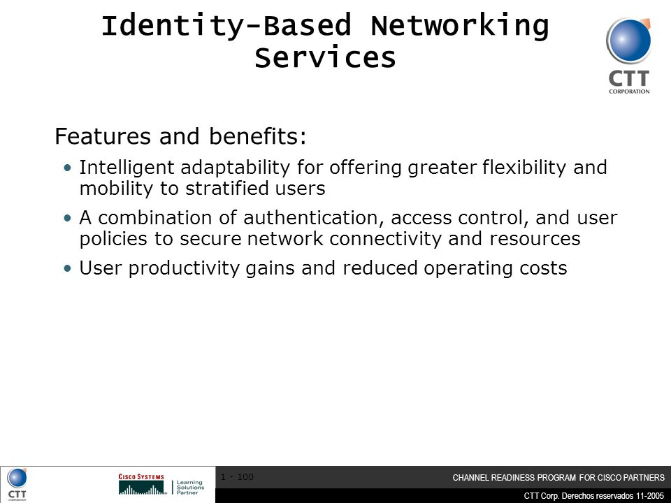 Identity-Based Networking Services