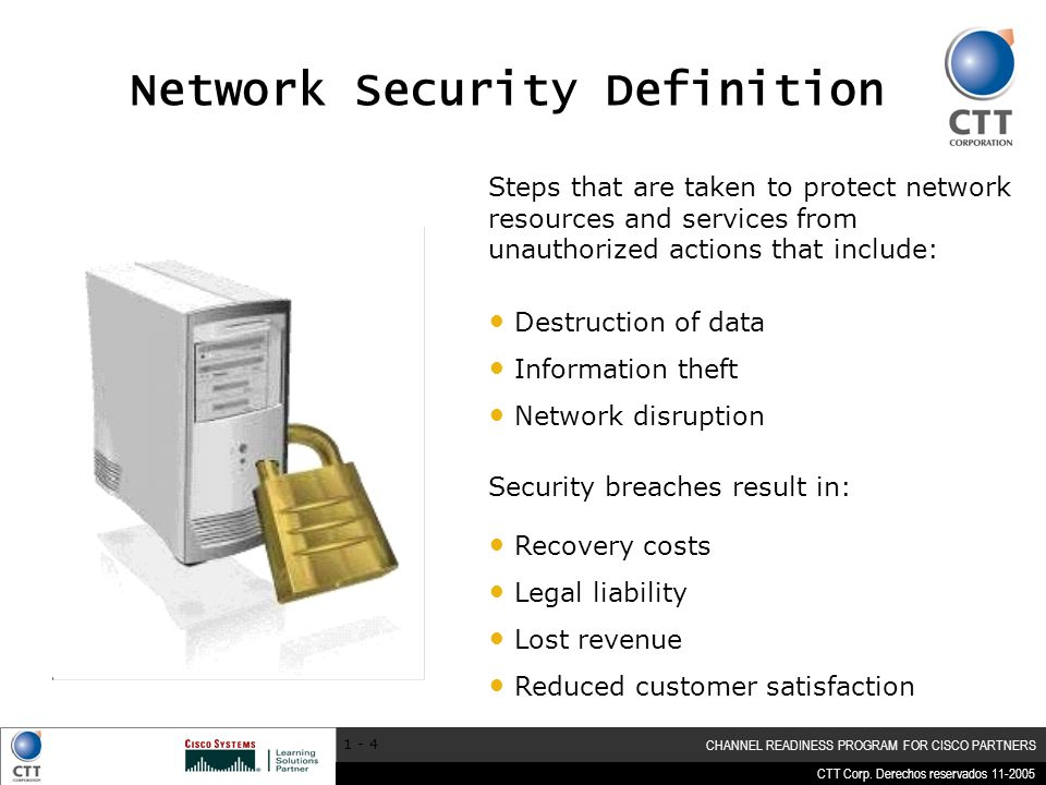Network Security Definition