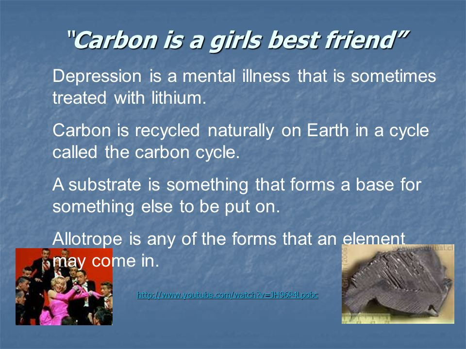 Carbon is a girls best friend