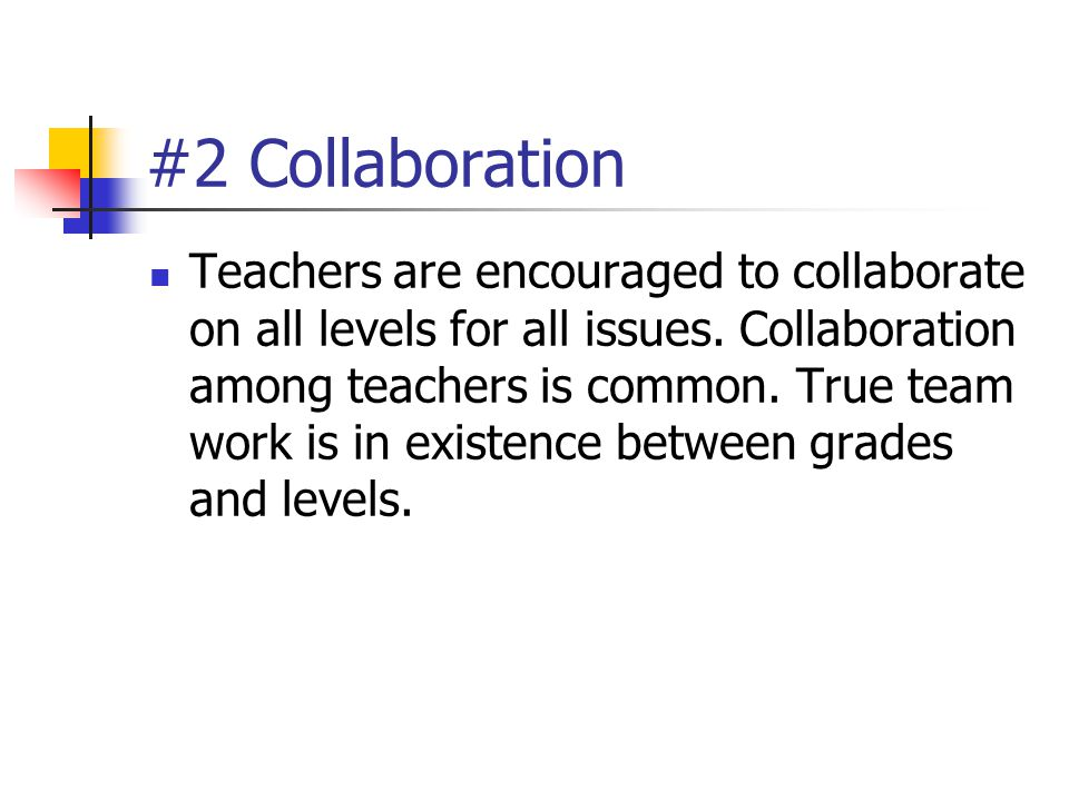 #2 Collaboration