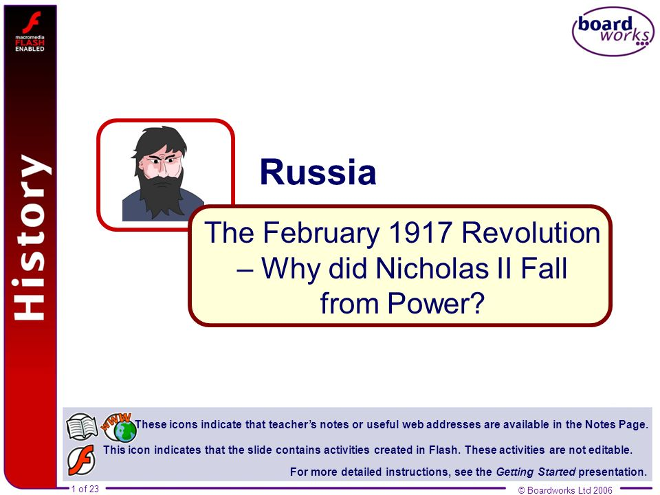 The February 1917 Revolution – Why did Nicholas II Fall from Power