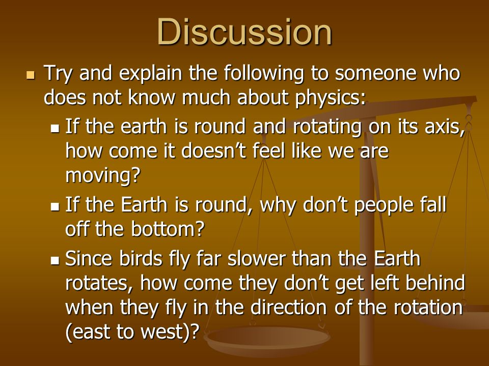 Discussion Try and explain the following to someone who does not know much about physics: