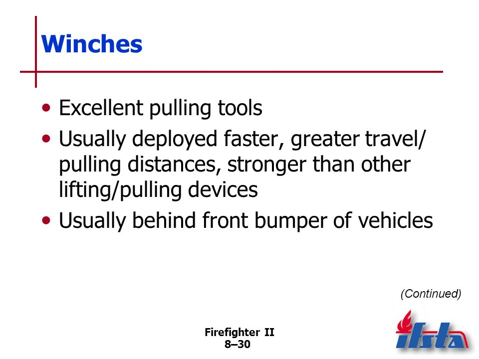 Winches Excellent pulling tools