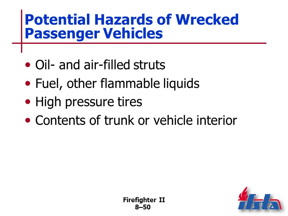 Potential Hazards of Wrecked Passenger Vehicles
