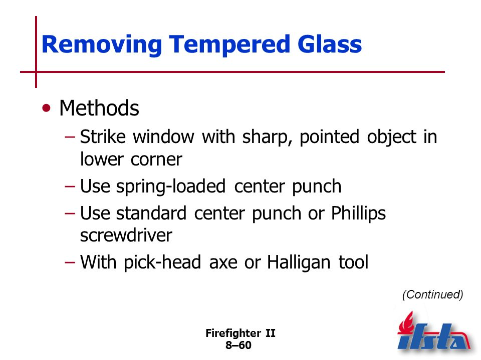 Removing Tempered Glass