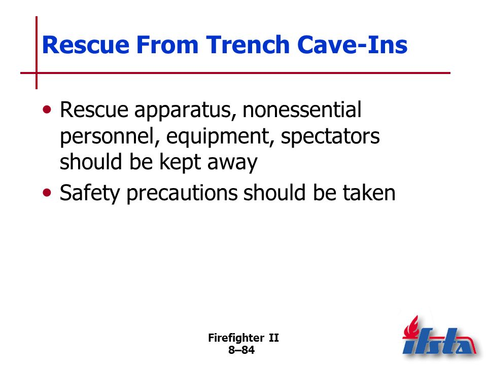 Rescue From Trench Cave-Ins