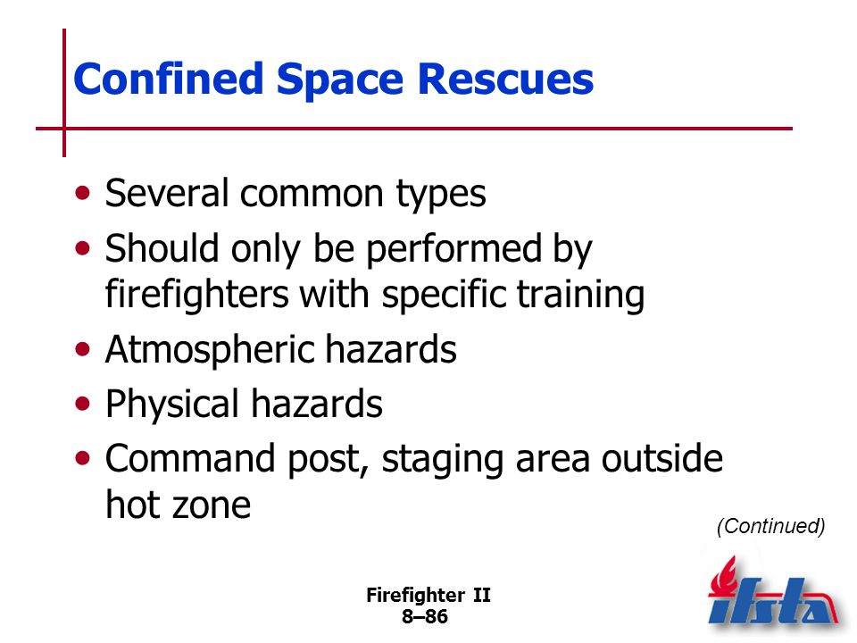 Confined Space Rescues