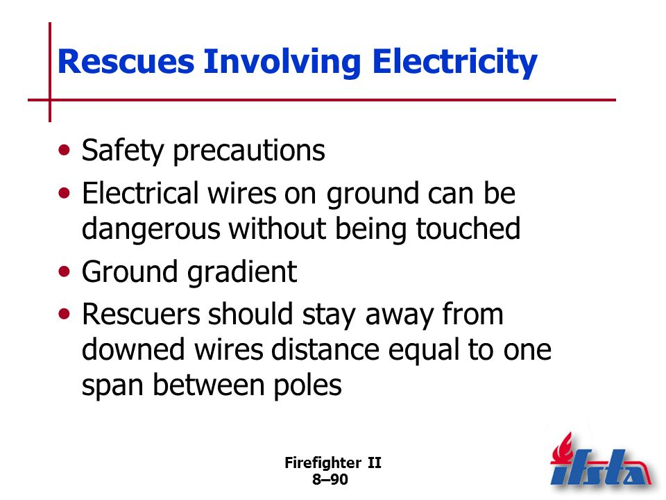 Rescues Involving Electricity