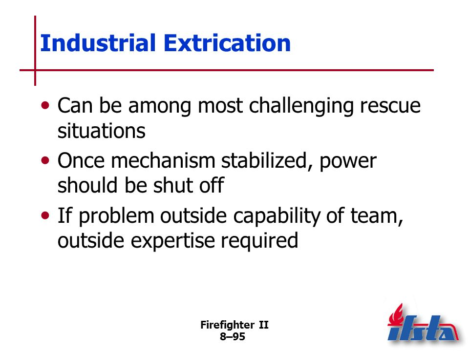Industrial Extrication