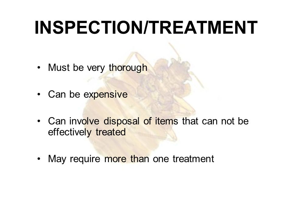 INSPECTION/TREATMENT