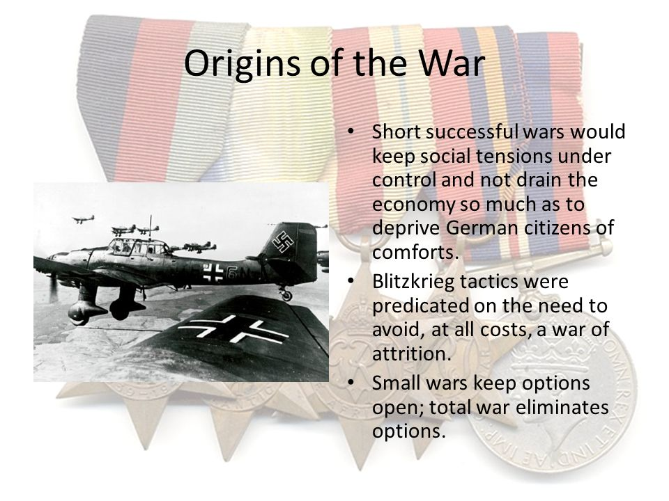 Origins of the War