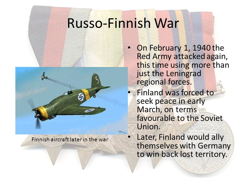 Finnish aircraft later in the war
