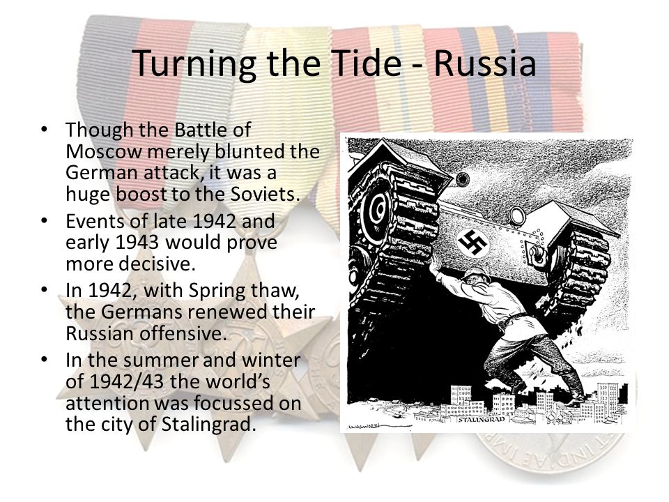 Turning the Tide - Russia